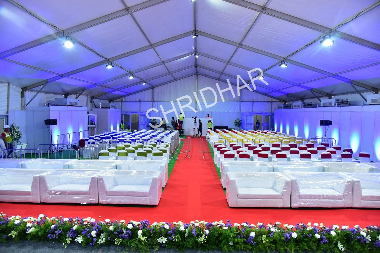 super structures mega hangers tents for rent in bangalore shridhar tent house