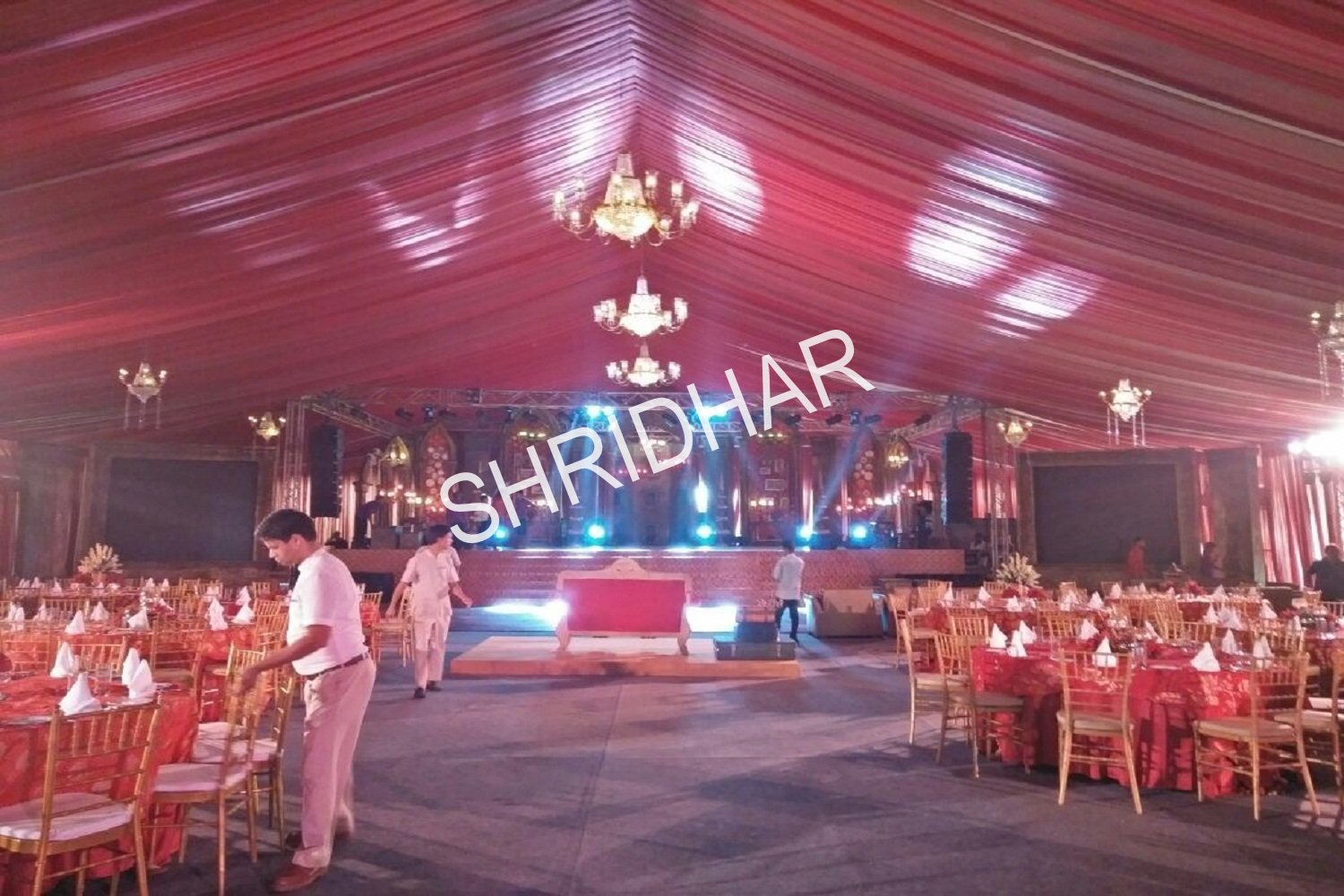 shamiyanas canopies tables chairs wedding chairs wooden stage for rent in bangalore shridhar tent house